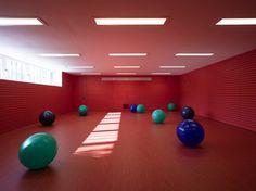 Sporthalle Garching | Diezinger & Kramer Architekten   © Architekturfotograf Stefan Müller-Naumann, München