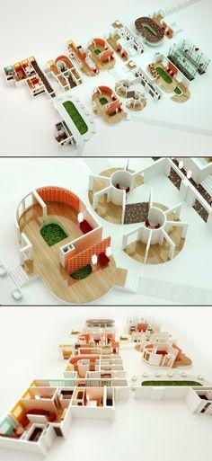 Interior #design #typography