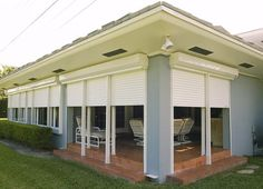 Rolladen Hurricane Shutters & Impact Windows - Hallandale Beach, FL, United States. Roll Down Shutters