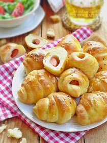 Az otthon ízei: Koktélvirslis sörkifli Pretzel Bites, Doughnut, Bread, Desserts, Food, Cakes, Tailgate Desserts, Deserts, Cake Makers