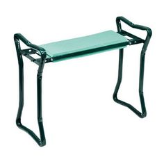 Folding Garden Kneeler and Bench, amazing deals on all our Gardening Aids! Call us FREE on 0800 111 4774 Today! Forest Green Color, Green Colors, Garden Equipment, Argos, Steel Frame, Vanity Bench, Home Interior Design, Handle, Exterior