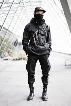 Techwear! I've always been a sci-fi fan, so this appeals to me but I'm not sure how well it'd work for me.