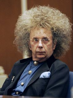 If Phil Spector got 19 years, what did his hair get? Description from exposedandnaked.blogspot.com. I searched for this on bing.com/images