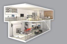 The Interview: Richard Witt of Toronto's Quadrangle Architects — Stephanie E. Home Building Design, Building A House, Studio Apartment Floor Plans, What Is Living, Condo Design, Urban Design, Living Spaces, Lofts, Live