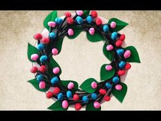 Looking for Simple yet Elegant DIY Christmas Wreath? Its Right Here! https://youtu.be/UPJXtormR08 . how to make your own #crafts follow @cutephonecases