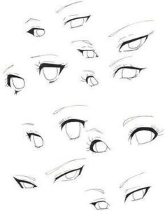Girl Eyes Drawing, Cartoon Eyes Drawing, Cartoon Girl Eyes, Anime Mouth Drawing, How To Draw Anime Eyes, Draw Eyes, Eye Drawing Tutorials, Drawing Tips, Anime Drawings Sketches