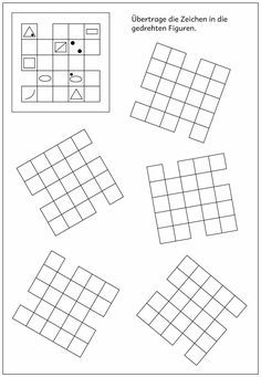 Block Symmetry worksheets, symmetry worksheets with 2