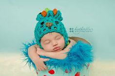 Newborn Peacock Hat  Photography Prop by BriarRoseCraftyThing, $27.00
