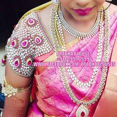Please email/inbox us for price details  Designcode : D1694  WhatsApp:+918099909996.  Email:prabha.blouses@gmail.com   Designerblouses  maggamworks  Blouses  Bridalwear  wedding  workblouses (y) u003C3 (y) u003C3 (y) 03 August 2016