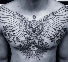 New tattoo ideas for guys inspiration chest piece Ideas - Tattoo Chest Tattoo Wings, Eagle Chest Tattoo, Cool Chest Tattoos, Chest Piece Tattoos, Cool Tattoos, Chest Tattoos For Guys, Tatoos, Torso Tattoos, Stomach Tattoos
