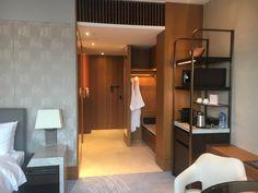 Bed Frame Sizes, Diy Bed Frame, Hotel Minibar, Elegant Bedroom Design, Roll Away Beds, Hotel Room Design, Wardrobe Storage, Hotel Interiors, Guest Suite