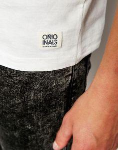 Image 3 of Jack & Jones T-Shirt with Jack & Jones Originals Print Label Tag, Jack Jones, Asos, Branding, Packaging, The Originals, Image, T Shirt, Supreme T Shirt