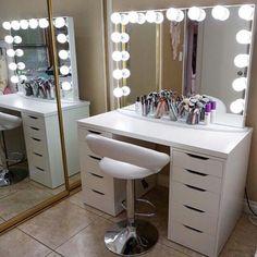 Mesa de maquiagem