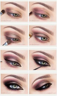 20 Purple Smokey Eye Makeup Tutorial