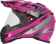 AFX FX-41 Dual Sport Multi Womens Street Riding DOT Protection Motorcycle Helmets