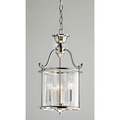 3 Light Elegant Nickel Fininh Glass Lantern Chandelier Pendant Light Fixture | eBay. Bay Window.
