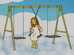"""The Simpsons """"Thank God, It's Doomsday"""" Simpsons Simpsons, Simpsons Quotes, Playlists, Cartoon Profile Pics, Cartoon Memes, Cartoons, Futurama, Reaction Pictures, Funny"""