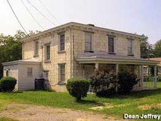 Petersburg, Virginia: House Built of Old Tombstones