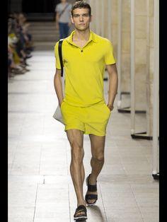 Hermès Spring 2017 Menswear collection.