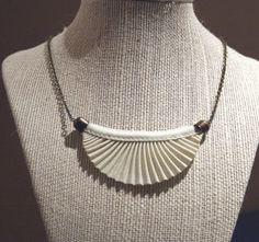 Fabric origami necklace