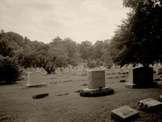 Haunted Cemetery Photograph - Signed Fine Art Print - Kentucky, Graveyard