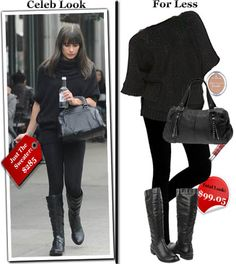 Look For Less: Lea Michele's Style For $99.05 | Thrifty Trendsetters