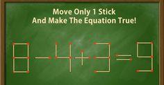 Onderwijs en zo voort ........: 3476. Starters met lucifers : 8-4+3=9