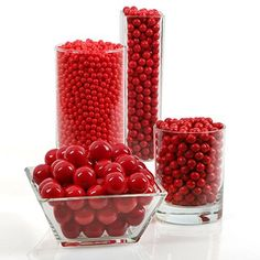 Red Party, Candy Party, Candy Containers, Candy Buffet, Dessert Table, Gourmet Recipes, Party Supplies, Raspberry, Fruit