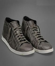 ♂ for him Grey shoes Converse by John Varvatos Pro Leather Brown High-Tops Profile Photo