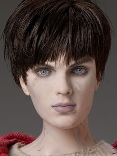 "#Pin2Win $189.99 ""R"" from the film Warm Bodies - Dressed Tonner Character Figure™  Face includes hand-painted details  Fine quality vinyl and hard plastic  Nicholas Hoult head sculpt  17"" Matt O'Neill™ body  Lily skin tone  Pale blue painted eyes  Mink non-removable wigged saran hair  Oatmeal long-sleeve shirt with holes and stains  Red hooded zip-up sweatshirt with holes and stains  Denim pants with rips and stains  White socks  Black molded plastic sneakers  clear and blue elastic…"