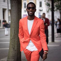 Mr. Tinie Tempah @tiniegram during London Collections: Men after @jimmychooltd presentation.  #lcm #fashionweek #tinietempah #jimmychoo #streetstyle #fashion #style #suit