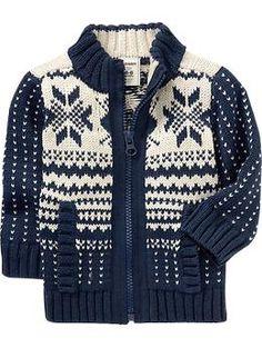 Fair Isle Half-Zip Sweater | Half zip sweaters, Boy fashion and ...