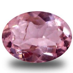 Morganite 110802: 0.56 Ct Eye-Catching Oval Cut (7 X 5 Mm) Pink Color Morganite Gemstone -> BUY IT NOW ONLY: $34.99 on eBay!