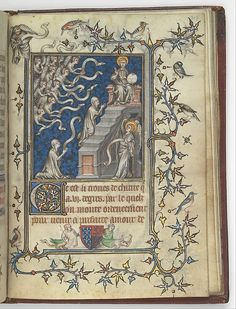 Psalter and Hours of Bonne of Luxembourg, Duchess of Normandy (image 12) | Attributed to Jean Le Noir | France; Paris |Tempera, grisaille, ink, and gold on vellum | Metropolitan Museum of Art | Accession Number: 69.86