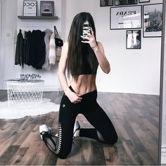 """23.4 тыс. отметок «Нравится», 301 комментариев — @kathiischr в Instagram: «New Gym Outfit - LOVE IT  @oceansapart.de Safe 15% with the Code """"kathiinsta15"""" ->…»"""