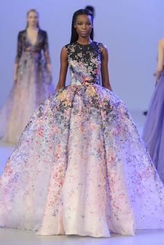 Elie Saab Couture Spring 2014 [Photo by Giovanni Giannoni]