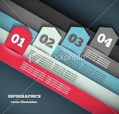 Modern Design Infographic Template Royalty Free Stock Vector Art Illustration