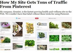 How My Site Gets Tons of Traffic from Pinterest
