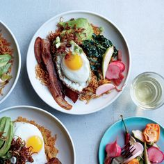 This best-ever fried rice is studded with bacon and topped with a fried egg. Get…