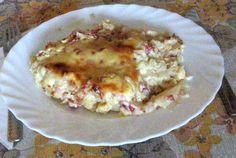 Sonkás karfiol (gratin) karfiolszósszal