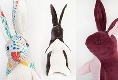 Cute bunny, just like in the book! Found on Etsy, pattern or pre-made.
