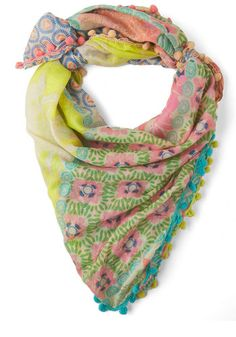 Glowing Ever Fonder Scarf, #ModCloth