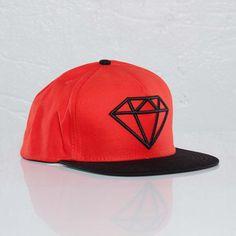 Diamond Supply Co.  Rock Snap Back