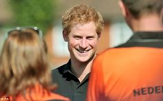 Proud: Prince Harry has spent the last year working hard on the Invictus Games which begin on Thursday, 11 September 2014.
