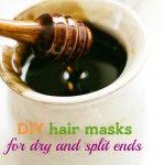 7 DIY homemade hair masks for dry and split ends