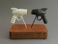 Salt and Pepper Ray Gun    They are fun and functional