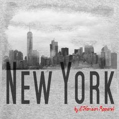 New York Classic Style - by L'Horizon Apparel - Männer Polycotton T-Shirt