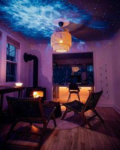 Room Design Bedroom, Room Ideas Bedroom, Dream Bedroom, Bedroom Decor, Galaxy Room, Galaxy Art, Projector Setup, Galaxy Lights, Fantasy Rooms