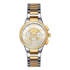 JBW Women's J6328D Helena 0.16 ctw Stainless Steel Diamond Watch