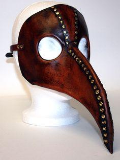 Plague Doctor Mask by WastelandArtisan
